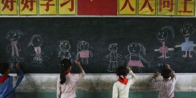 Él cursa el tercer grado de la escuela primaria en Subandaku, Manila. Foto:Getty Images