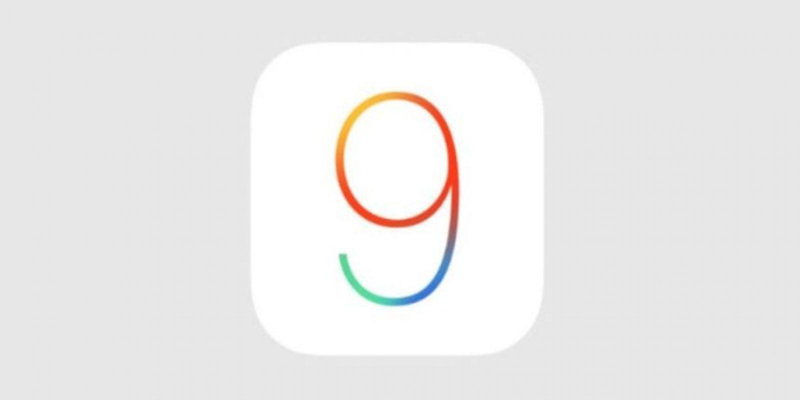 iOS 9 es el nuevo sistema operativo de la compañía para los dispositivos móviles. Foto:Apple