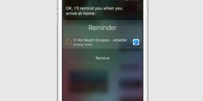El cual podrá sincronizarse con Siri, además de otras aplicaciones como reproductores de música y aplicaciones de fotos. Foto:Apple