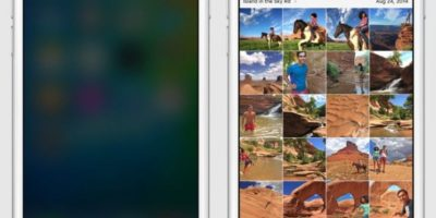 En la imagen pueden ver un ejemplo de como funcionaría el nuevo iOS 9 para iPhone. Foto:Apple