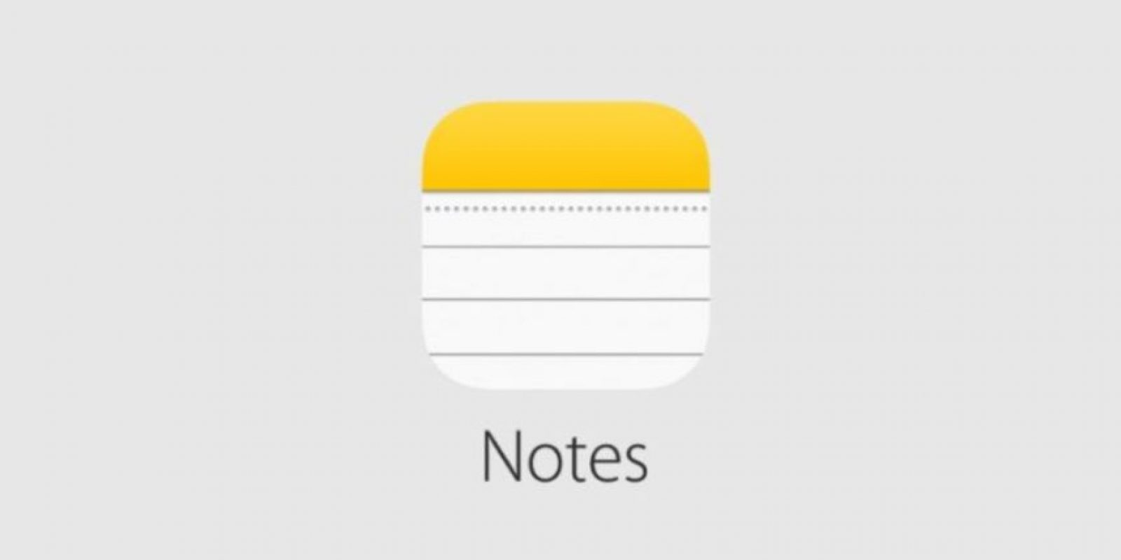 O Notes. Foto: Apple