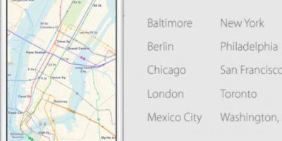 En las principales ciudades del mundo. Foto:Apple
