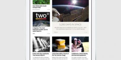 Con una interfaz exclusiva para el contenido escrito, fotos y video. Foto:Apple