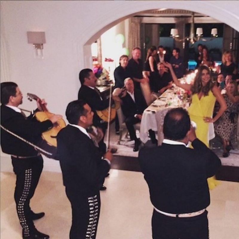 Y mariachis Foto:Instagram/SofiaVergara
