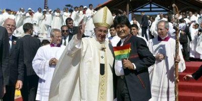 Él cree que el presidente Evo Morales se lo dio con la intención de darle un gusto, no una molestia. Foto:AFP