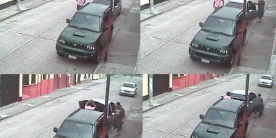 Graban robo en automóvil de la Liga de Higiene Mental