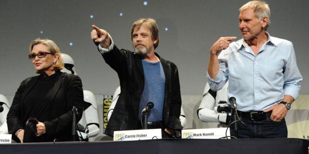 """La fuerza de """"Star Wars"""" despertó en el Comic-Con"""