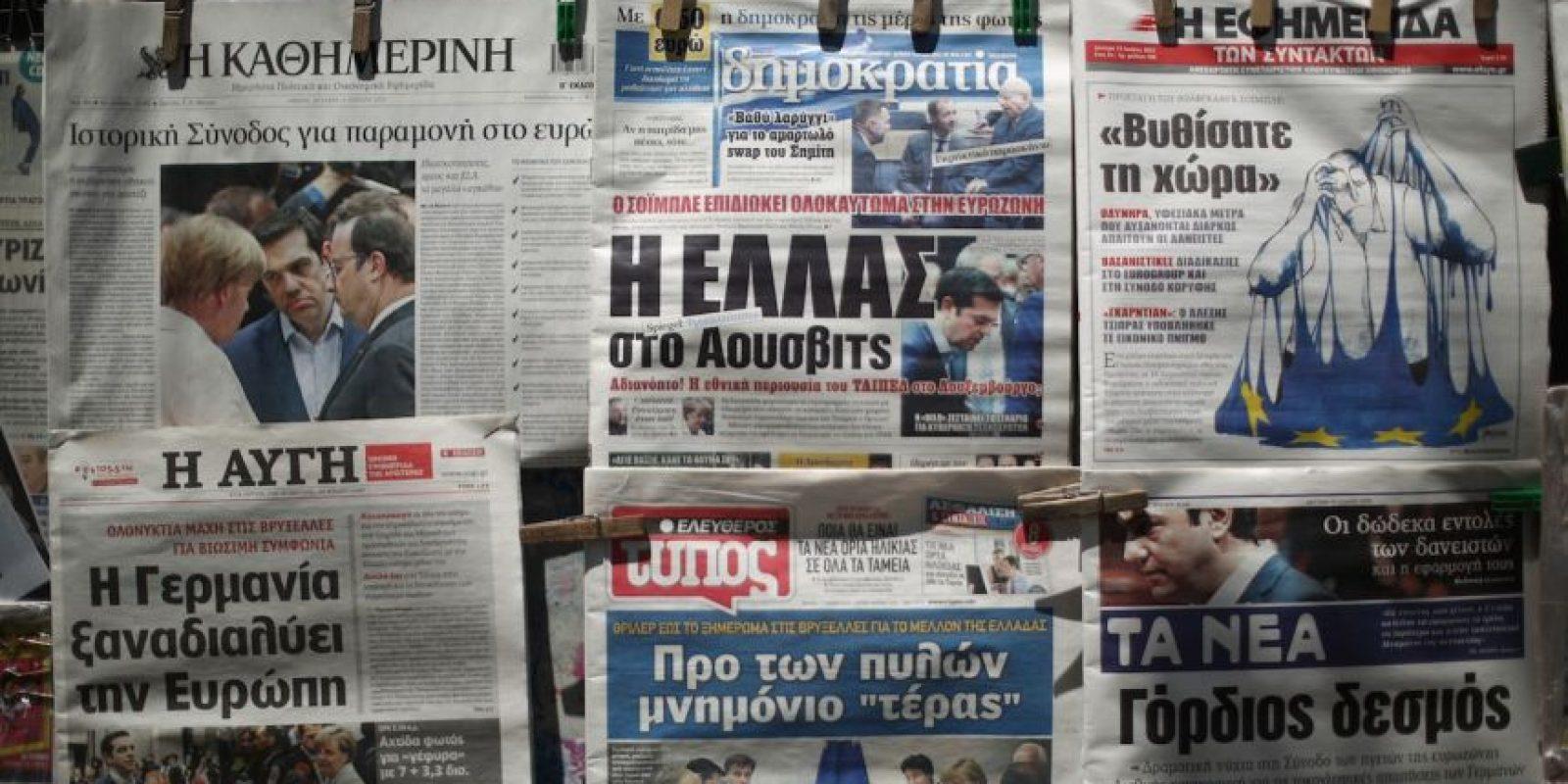 Algo que fue totalmente rechazado por Alemania Foto:AFP
