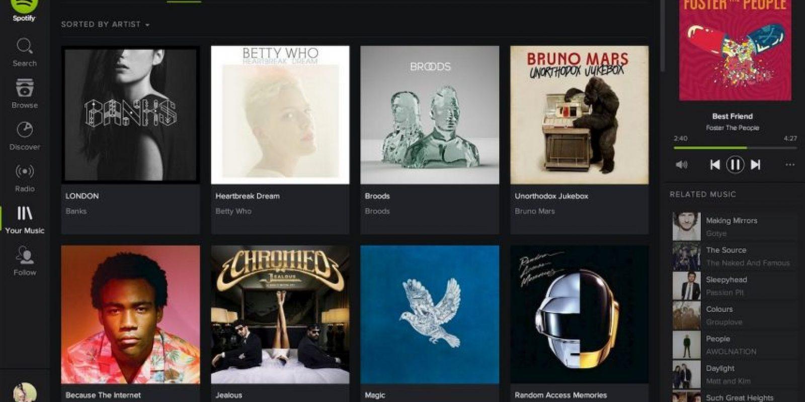 Tiene más de mil 500 millones de playlist. Foto:Spotify