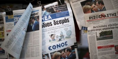 Con el hashtag #EstoEsUnGolpe, usuarios de Twitter pidieron a Alexis Tsipras salir de la Eurozona Foto:Getty Images