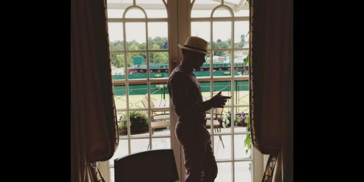 Lewis Hamilton se perdió la final de Wimbledon por su pésima ropa