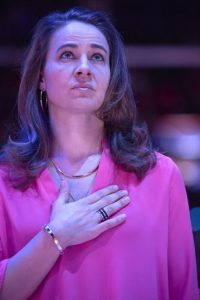 Jugó basquetbol en la WNBA, la liga de baloncesto profesional para mujeres en Estados Unidos. Foto:Getty Images