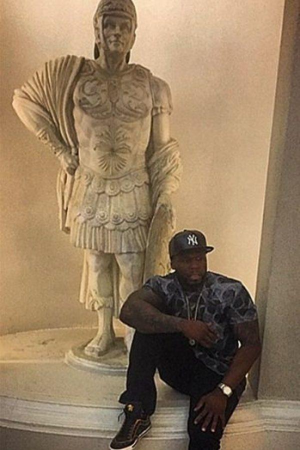 """Es miembro de la lista de los artistas de hip hop más ricos de la revista """"Forbes"""" Foto:vía instagram.com/50cent"""