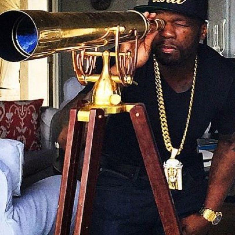 """A principios de este año """"Forbes"""" estimó que el cantante mantenía una fortuna de 155 millones de dólares. Foto:vía instagram.com/50cent"""