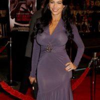 Con esto se ve como Kim Kardashian. Foto:vía Getty Images
