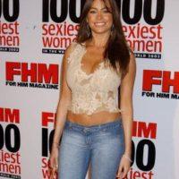 Ella era fan de los tops rotos y los jeans. No, no y no. Foto:vía Getty Images