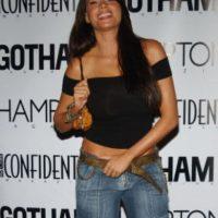 Y ella insistía con el jean. Foto:vía Getty Images