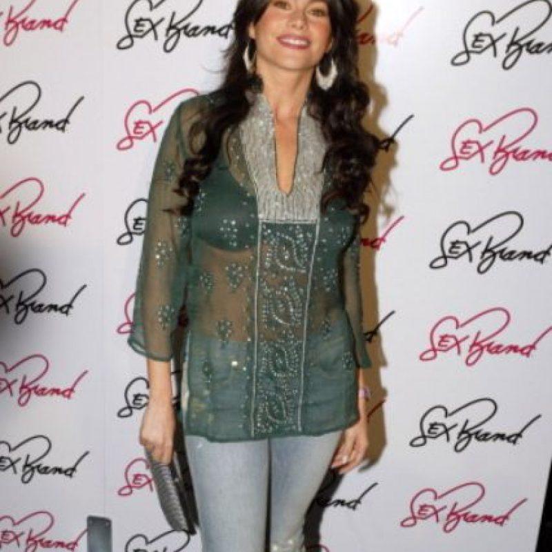 Esta blusa india la avejenta mucho. Foto:vía Getty Images