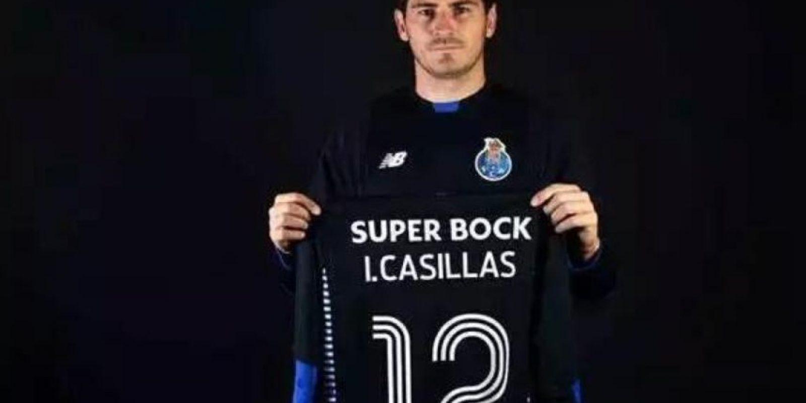 """El arquero español portará el dorsal """"12"""" Foto:Vía twitter.com/futbolfichajes"""