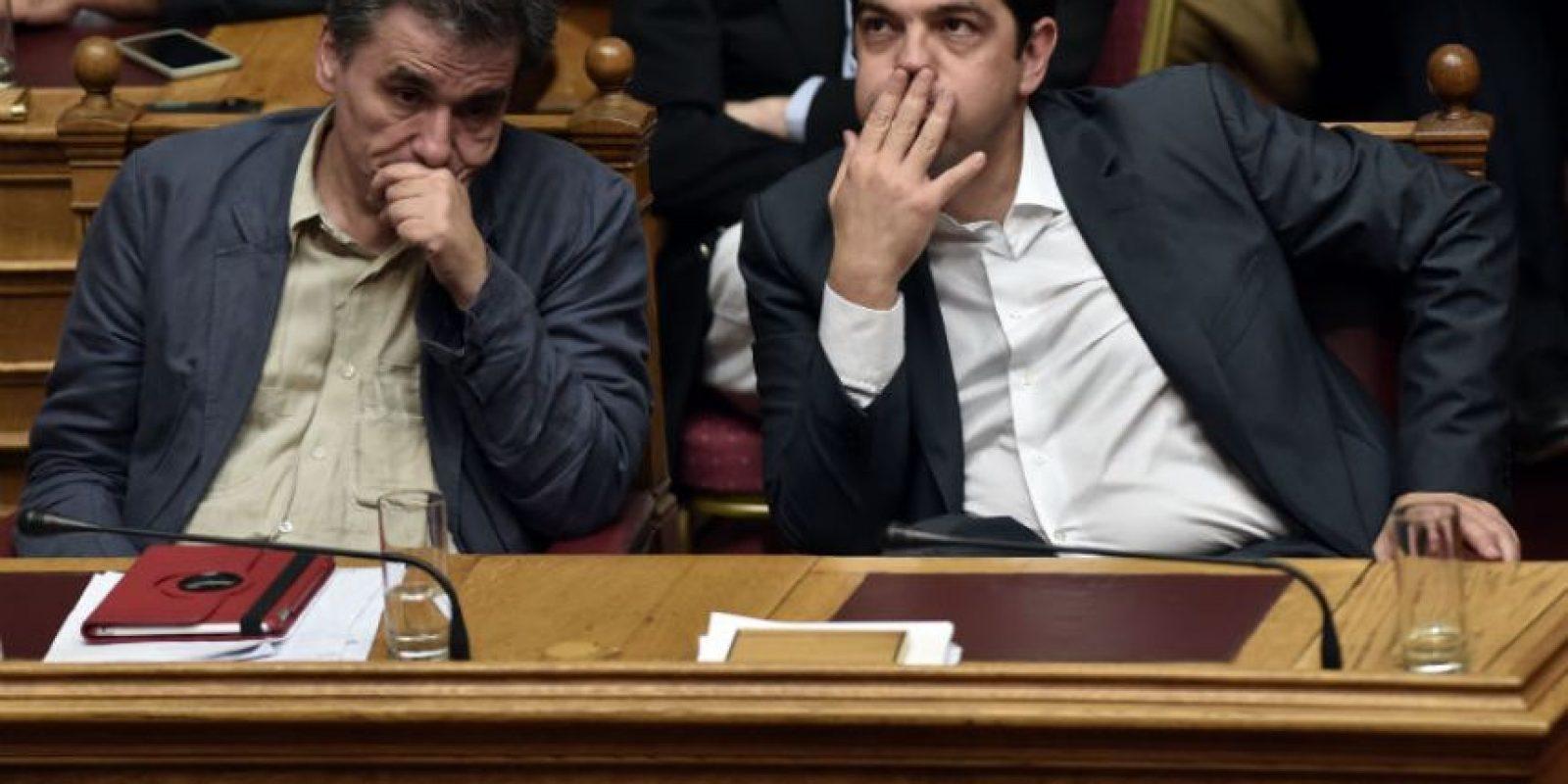 El cual según el primer ministro Alex Tsipras es muy duro. Foto:AFP