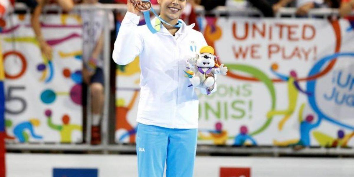 #Toronto2015 Ana Sofía celebra en las redes sociales la medalla de bronce