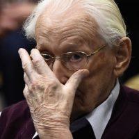 1. Oskar Groening fue declarado culpable en el Tribunal de Luneburgo, en Alemania. Foto:AP