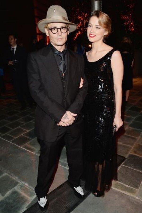 """Por su parte, Johnny Depp permaneció en Australia para rodar la nueva película de """"Piratas del Caribe"""". Foto:Getty Images"""