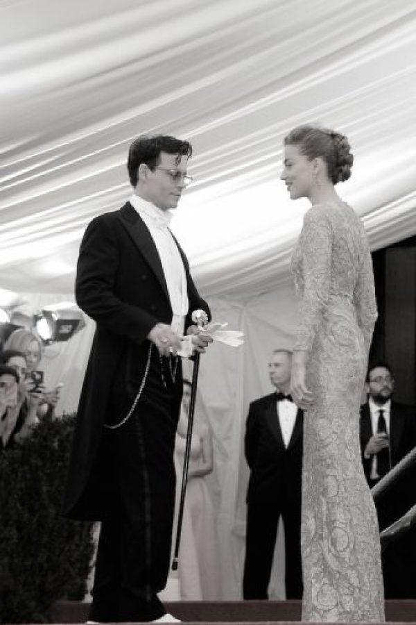 """La pareja se conoció en las filmaciones de la película """"The Rum Diary"""" (2011). Foto:Getty Images"""