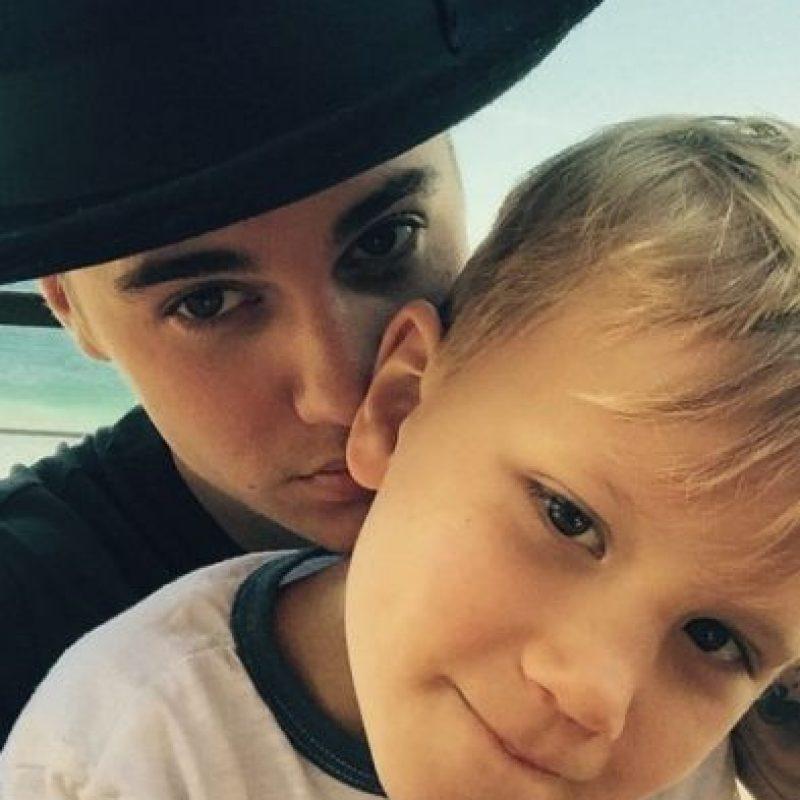 En su entrevista con Martha Stewart, el cantante aseguró que pasará los siguientes días con su hermanito, Jaxon. Foto:vía instagram.com/justinbieber