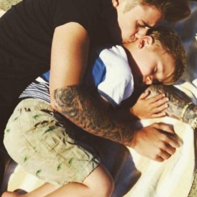 Bieber es el hermano mayor de Jaxon (5 años) y Jazmyn (7 años). Foto:vía instagram.com/justinbieber