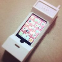 Un teléfono. Foto:Pinterest
