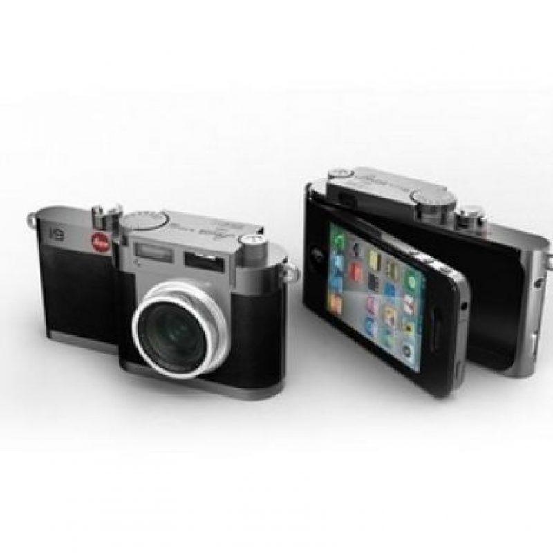 Una cámara fotográfica. Foto:Pinterest
