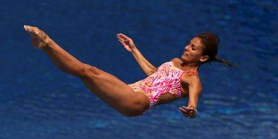 Ganó oro en clavados sincronizados en trampolín de tres metros y bronce en sincronizados desde la plataforma de 10 metros Foto:Getty Images