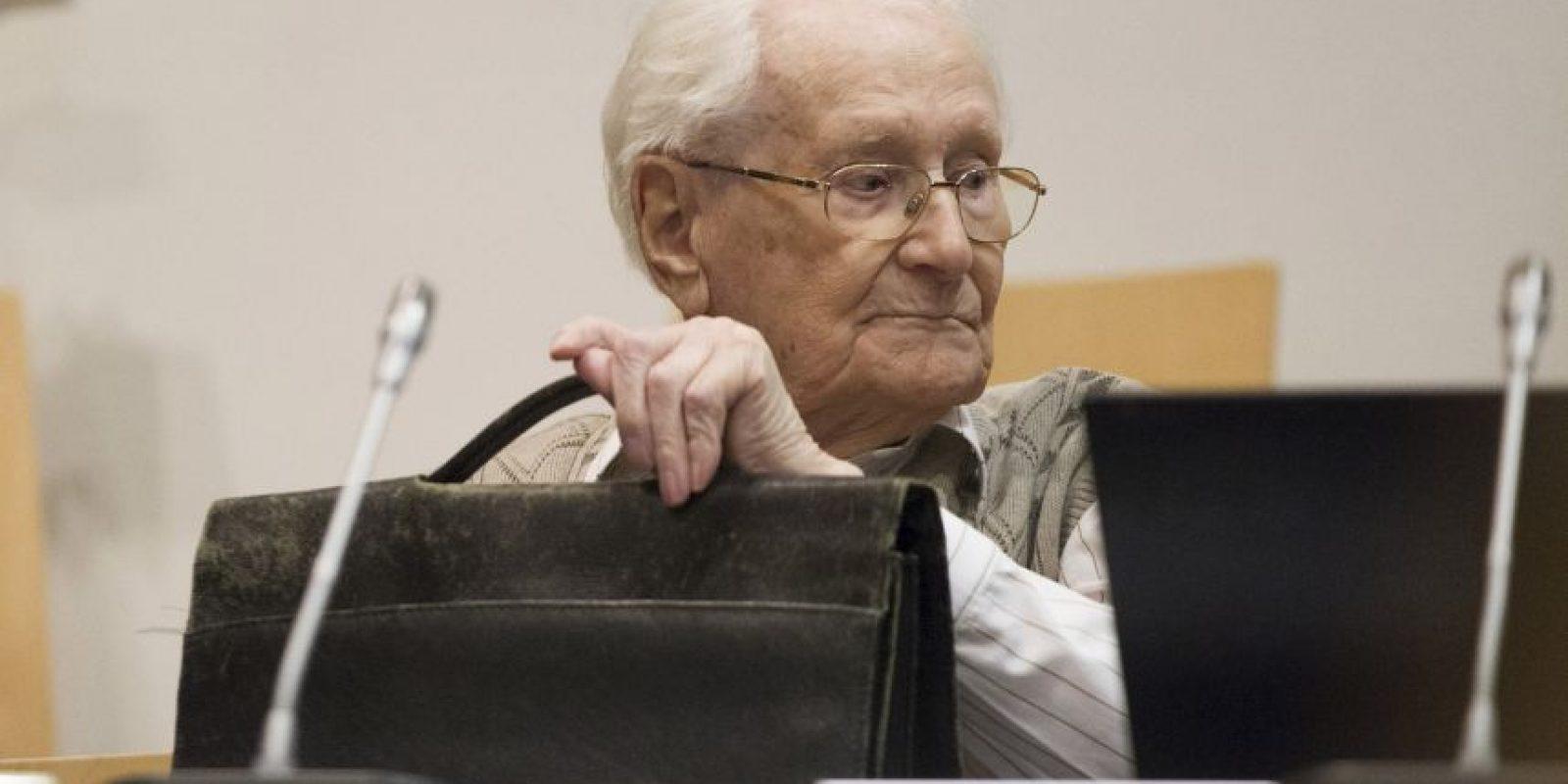 5. Este comenzó a trabajar en Auschwitz a los 22 años. Foto:Getty Images
