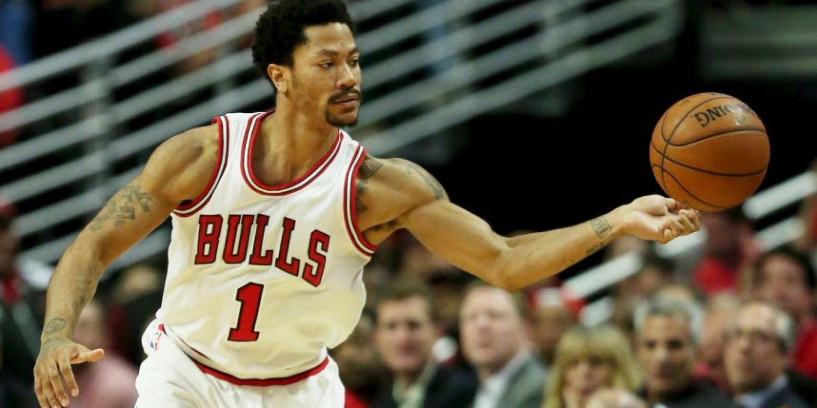 14. Chicago Bulls. El quinteto de Derrick Rose tiene un valor de dos mil millones de dólares Foto:Getty Images