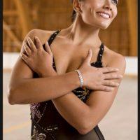 La chilena se hizo con el bronce en patinaje artístico Foto:Twitter