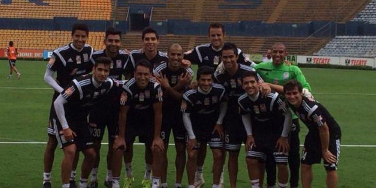 Tigres Foto:Vía twitter.com/TigresOficial