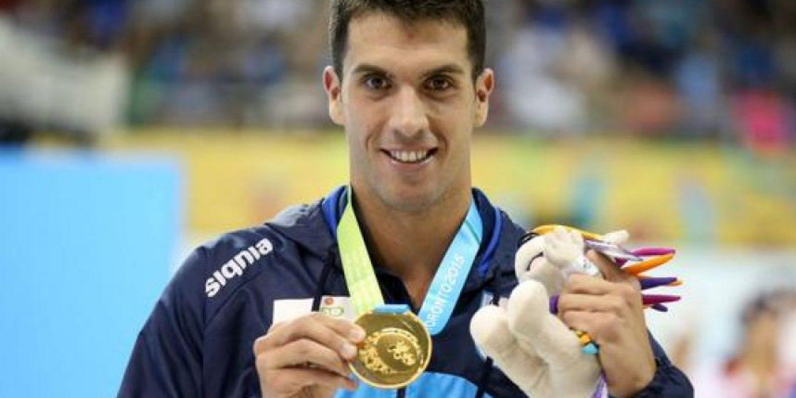 Oro en la competencia individual de tenis. Foto:Vía twitter.com/todoporeltenis