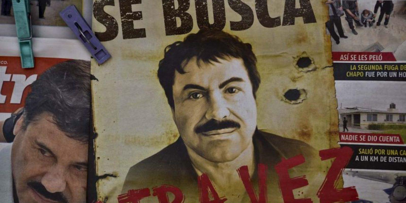 """Al parecer un mes después de su escapatoria """"El Chapo"""", comenzó a trabajar en su propio túnel. Foto:AFP"""