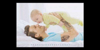 Aquí una visión a futuro de Louis y su supuesto hijo. Foto:vía Twitter