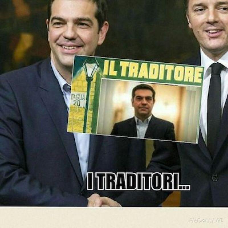Se le acusa de ser traidor Foto:Instagram.com