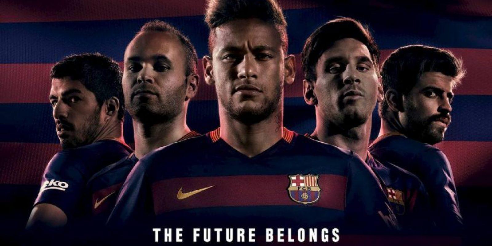 La nueva camiseta del Barcelona causó revuelo. Foto:fcbarcelona.com