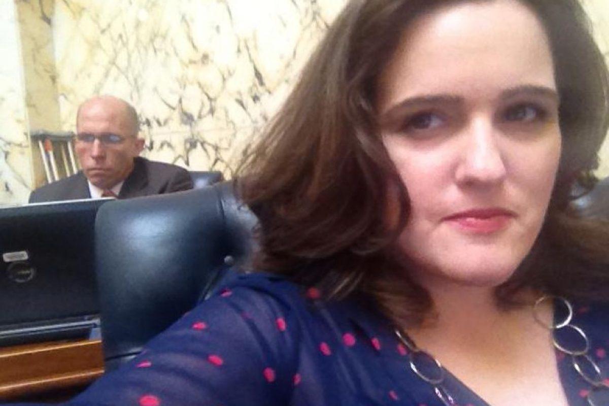 La mujer de 39 años, se acaba de divorciar Foto:Facebook.com/kellyfordelegate