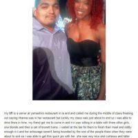 Este hombre se encontró con la gemela malvada de Rihanna Foto:vía collegehumor.com