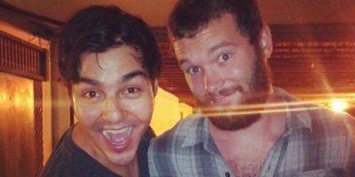 """Él no soportó la emoción de """"conocer"""" a Chris Pratt Foto:vía collegehumor.com"""