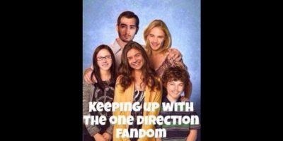 Las fans comparan la vida de los integrantes de One Direction con la de la familia Kardashian. Foto:vía Twitter