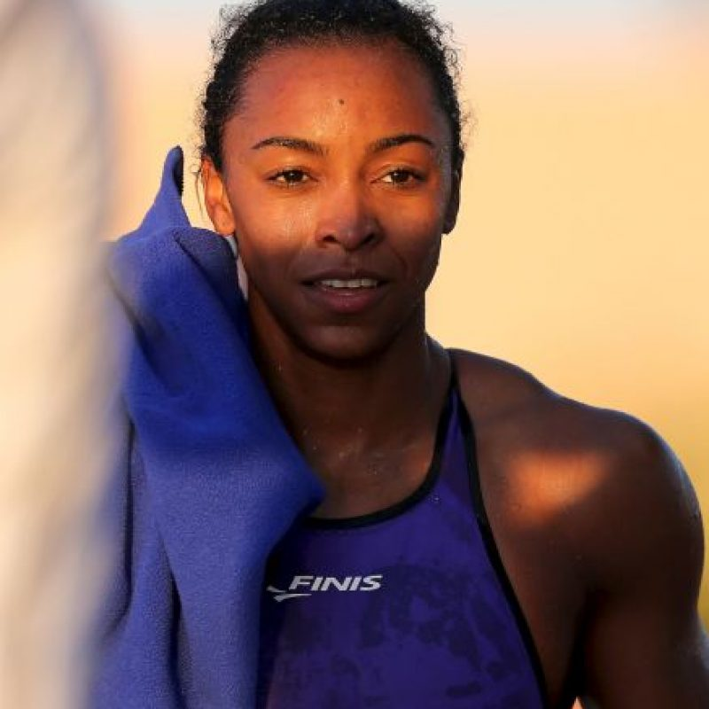 Obtuvo bronce en los 100 metros estilo libre de natación Foto:Getty Images