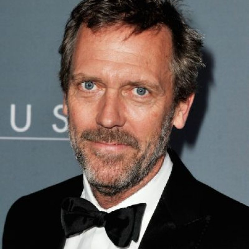 Así luce el original Hugh Laurie Foto: Getty Images