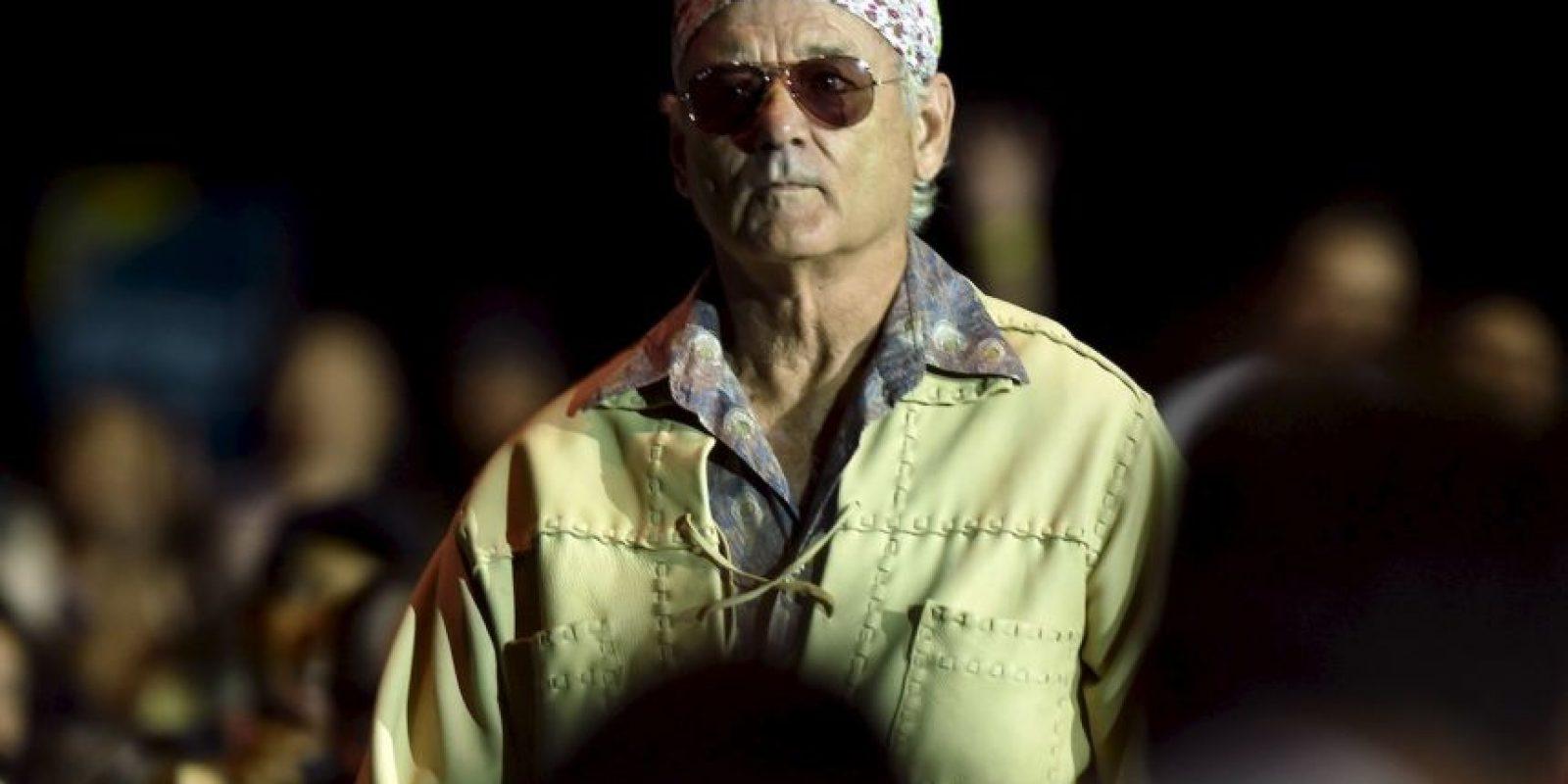 """Bueno, ella """"murió"""" pero Bill Murray jamás la conoció. Foto:Getty Images"""
