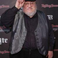 Pero este el verdadero look del escritor George R.R. Martin Foto:Getty Images